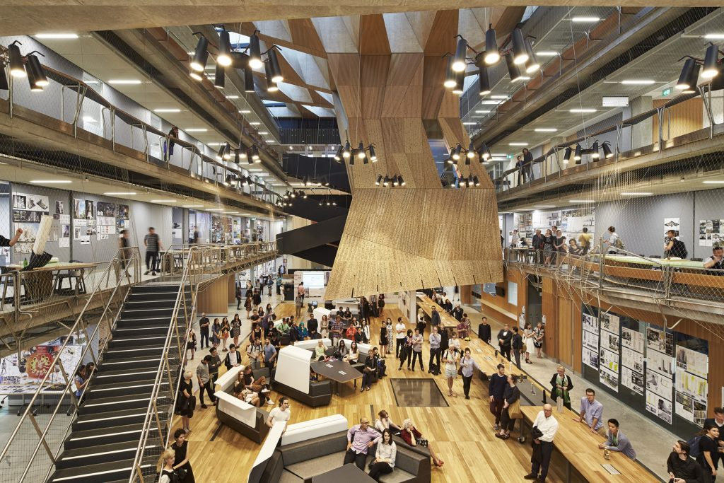 Melbourne School of Design by JWA and NADAAA (Photo: Peter Bennetts)