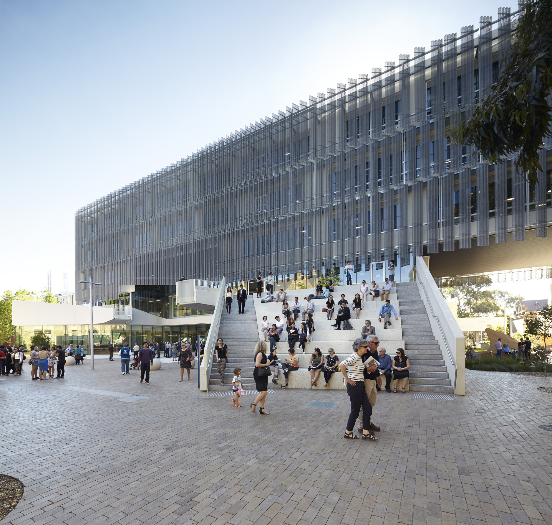 Melbourne School of Design by JWA and NADAAA (Photo: Nils Koenning)