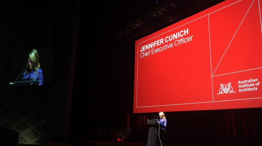 Jennifer Cunich CEO of the Australian Institute of Architects
